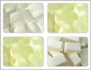 fondre et verser la base de savon , 1 kg offert de Lauryle de sulfate de sodium .
