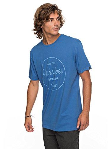 Quiksilver Classic Morning Slides - T-Shirt - T-Shirt - Männer - XXL - Blau