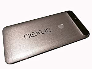 GADGETS WRAP Google Nexus 6P Silver Metal Skin for Front & Back A9A09