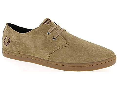 Fred Perry Byron Low Suede Almond Brown Stone B7401D83, Basket