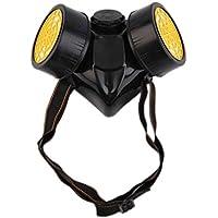 Babysbreath Máscara de gas respiratoria de seguridad de supervivencia de emergencia con 2 filtros de protección