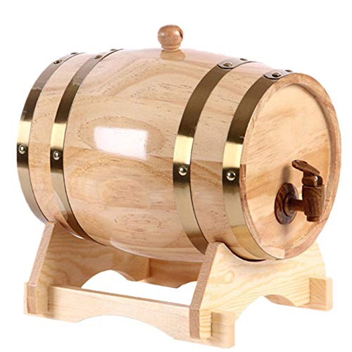 Ainia Wein Eiche Barrel Mini Barrel Mini Alkohol Bier Barrel Eiche Fass 1.5L -