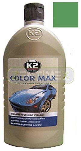 Farbpolitur Tönungswachs Autopolitur Lackpolitur Wachs Poliermittel Autolack Farbbrillanz Tiefglanz kolorisierend 0,5l LIGHT GREEN HELLGRÜN