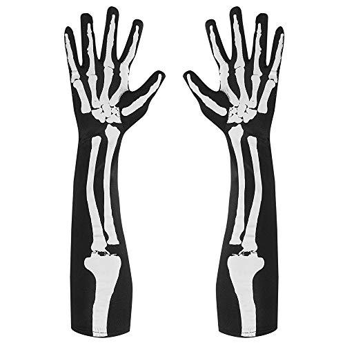 Widmann 01089 Handschuhe Skelett, womens, One Size