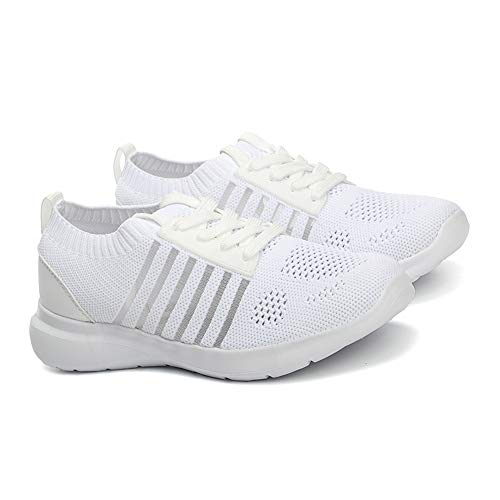 Frauen Mesh-Socken-Turnschuhe Breathable Sporttrainer Breathable Anti Slip Laufschuhe Sommersportschuhe -