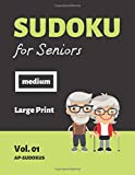 Sudoku for Seniors: 100 medium Sudoku Puzzles for Senior Citizens I Gift