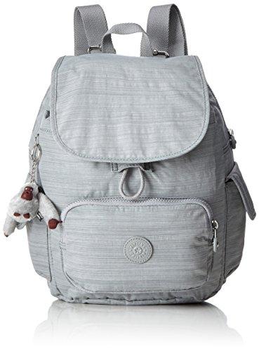 Kipling City Pack S, Sacs à dos femme, Grau (Dazz Grey), One Size