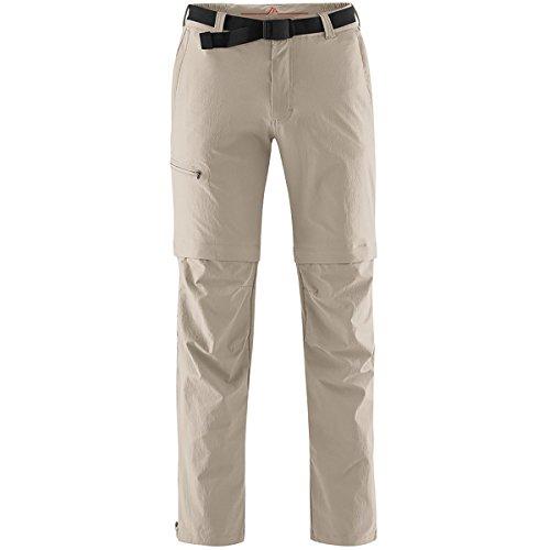maier sports Herren Outdoor Hose T-zipp Tajo, Feder grau, 25, 133003