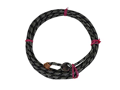 o Kid Rope Diverse Farben geflochten oder gedreht (Schwarz-Weiß, 6 Meter) ()