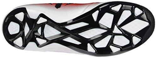 adidas Messi 16.3 Fg J, Chaussures de Football Entrainement garçon Rouge (Red/core Black/ftwr White)