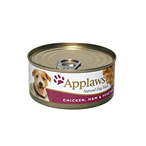 Applaws Dog Food Chicken, Ham & Vegetable 24 x 156g 3744g from Applaws