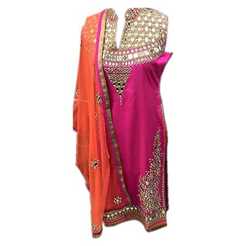 Aryan Fashion COLOR LATEST INDIAN DESIGNER ANARKALI SALWAR KAMEEZ DRESS for women...