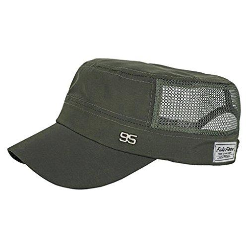 FakeFace Unisex Sonnenhut Sommerhut Army Hut Strand Cap Baseball Cap Fischerhut Schlapphut Schnelltrocknend Hüte