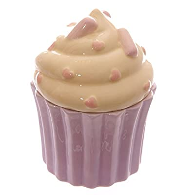 New Cupcake Design Ceramic Trinket Box