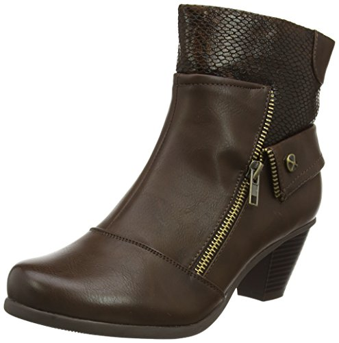 Lotus Damen Sherman Kurzschaft Stiefel Brown (Brown Print)