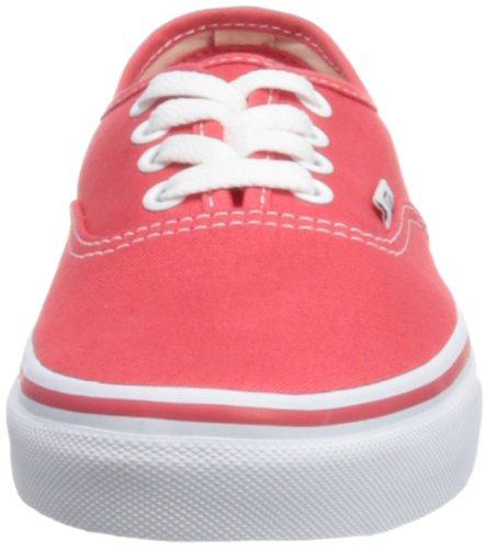 Vans U Authentic Rainbow, Baskets mode mixte adulte Orange (Hibiscus/True W)