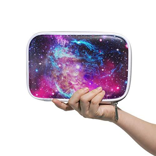 ISAOA 108848720 Federmäppchen mit großer Kapazität für Schule, Universum, Galaxie, Galaxy, Nebula Space, stabiles Schreibwaren, Federmäppchen, Kosmetiktasche für Stift, Make-up, Pinsel, Notizbuch - Office Space Kit
