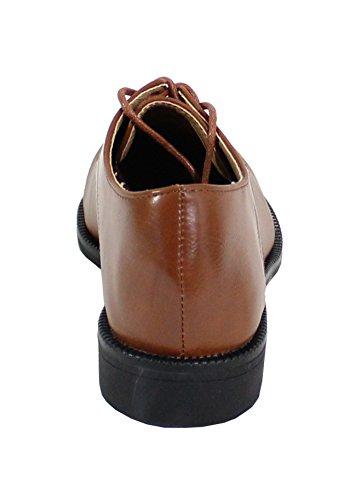 By Shoes - Damen Schnürhalbschuhe Camel