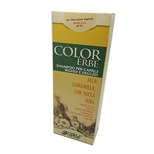 Naturerbe Color Kräuter Shampoo für blondes Haar und Feinwäsche 200ml