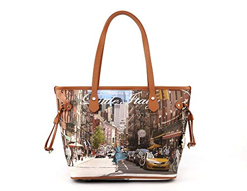 Y NOT? Little Italy New York SH BORSA Donna TRACOLLA L-336