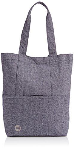 Mi-Pac Tote Bag Bolso Bandolera, 40 cm, 17.5 Litros, Herringbone N