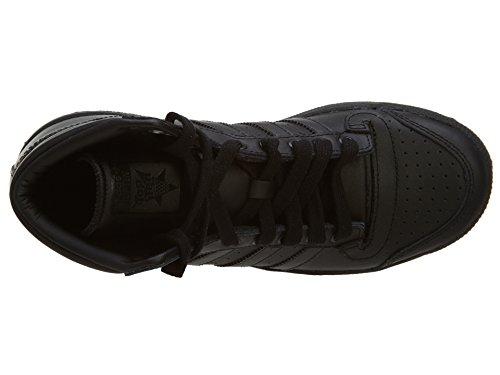 Adidas Top Ten Hi J Black Black Youths Trainers Noir Noir