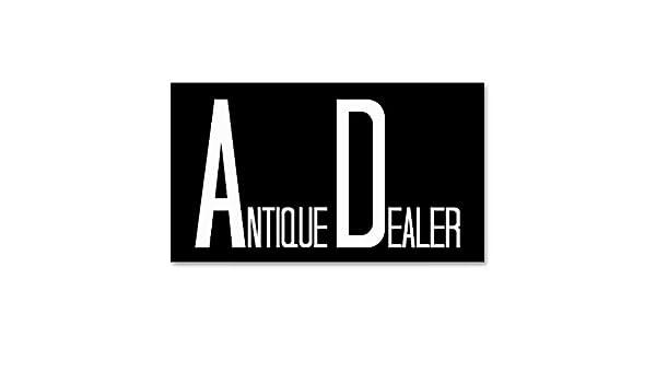 Carte De Visite Noir Et Blanc Brocanteur Amazonfr Fournitures Bureau