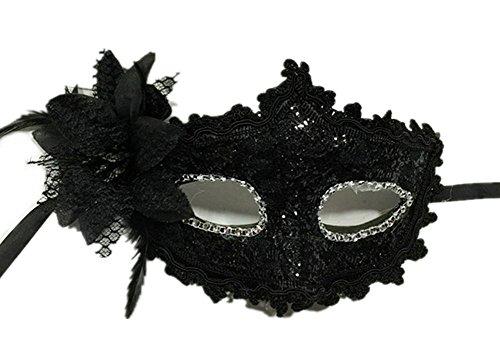 Da.Wa Maske für Venedig Maskenball Erwachsene Kinder Weihnachten (Morphs Passt)