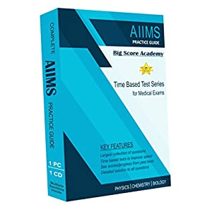 Big Score Academy – Complete AIIMS Preparation Guide and Test Series (CD ROM)