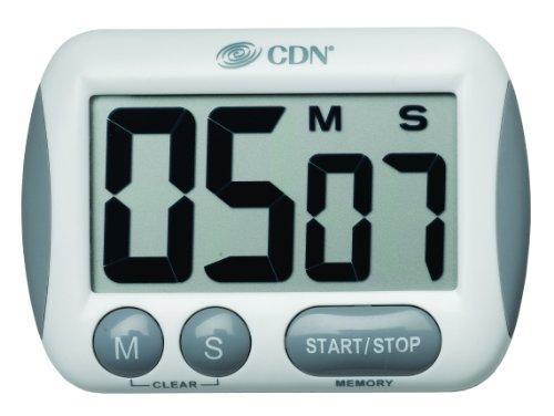 CDN Küchentimer mit extra großer Anzeige, 100Minuten in Minuten/Sekunden