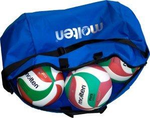 MOLTEN Profesional Bolsa de 6 Balones de Voleibol