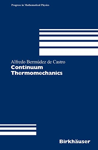 Continuum Thermomechanics: With Numerical Simulation in View (Progress in Mathematical Physics Book 43) (English Edition) por Alfredo Bermúdez de Castro