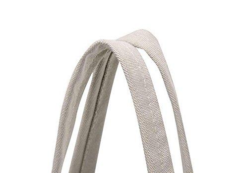 Spalla Portatile Bag Moda Fiori Borsa Borsa Di Tela Tote Spiaggia Ms. Brown