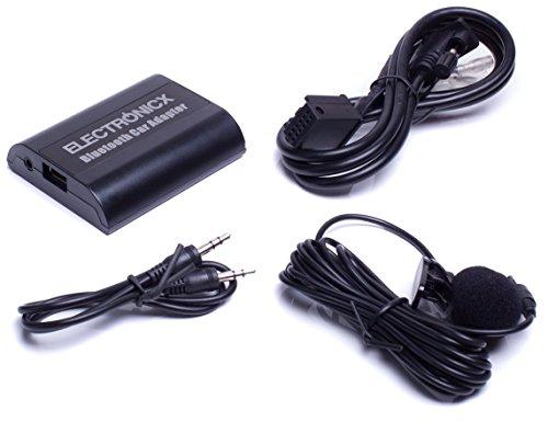 Electronicx® Adaptador de radio para coche auto carro manos libres bluetooth controlador...