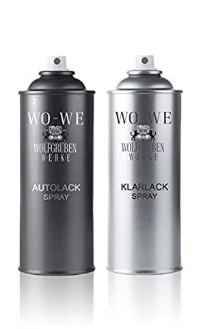 37,38eur/L – 2 x 400ml Vernis Spray Set de 3 boites Plymouth PTB Oyster or Crystal avec un vernis Spray pour le Spray de laque vernis réparation des dommages à auto/voiture avec sprühlack en aérosol vous-même Günstig