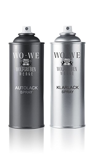 2x400ml LACK SPRAYDOSEN Set für RENAULT XNX COMB. OF REN RPM / REN GNE als LACKSPRAY zur Spray Lackreparatur von Lackschäden an Auto / Pkw mit Sprühlack aus Sprühdose lackieren
