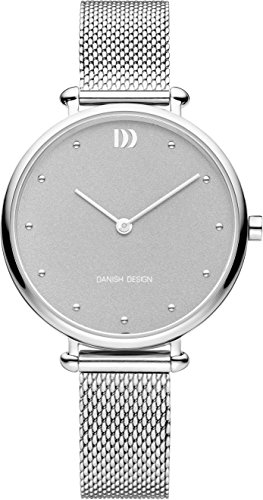 Danish Design Damen Analog Quarz Uhr mit Edelstahl Armband IV64Q1229
