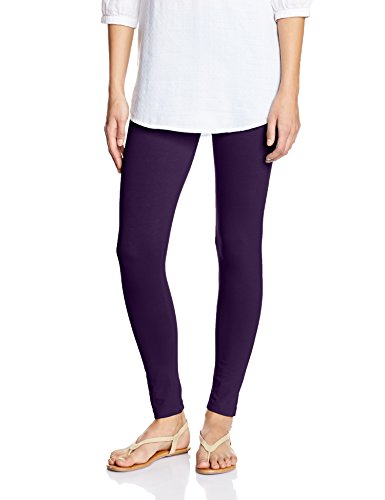 Myx Women's Cotton Stretch Leggings (AW16LEG01O_Wine_Small)