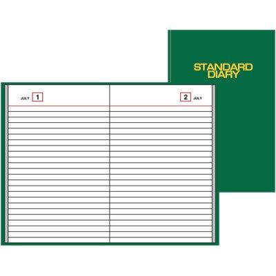 AT-A-GLANCE SDU389-03 Standard-Tagebuch, undatiert, tägliche Erinnerung, 15,2 x 21,6 x 2,5 cm, Grün (Tagebuch-tägliche Erinnerung)