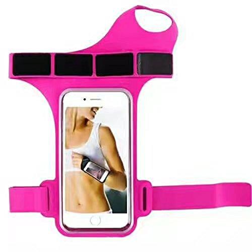 myfei Outdoor Sport Laufen Telefon Arm Tasche, wasserdicht Diebstahlschutz Daumen Handgelenk Belt Armband Handgelenk Bag Radfahren Arm Band (Body Patch Cross)