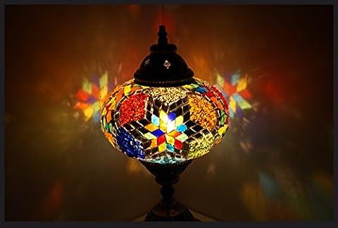 Lampe Tiffany - Mosaïque lampe de table lampe de chevet