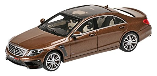 minichamps-143-scale-brabus-850-s63-2015-model-car-metallic-brown