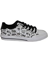 Circa Skateboard Girls shoes ALW50 White/Black Bicycle