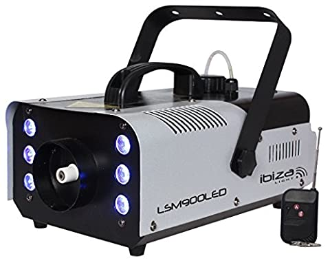 Ibiza 15-1310 LSM900LED Machine à fumée 900W