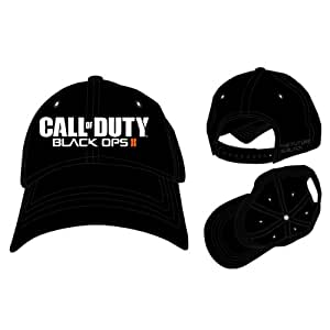 Call of Duty BO2 - Adjustable Black Cap Front Logo