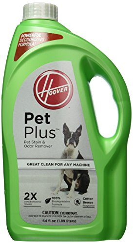 Hoover PETPLUS 2X Concentrated, 64oz Pet Stain and Odor Remover, AH30320 by Hoover
