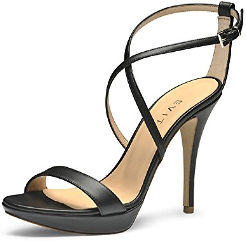 Gentiluomo   Signora Evita scarpe, Sandali Sandali Sandali Donna Pasto fisso elegante e robusto Materiale preferito Ottima qualità | Prezzo Affare  | Sig/Sig Ra Scarpa  df9bdb