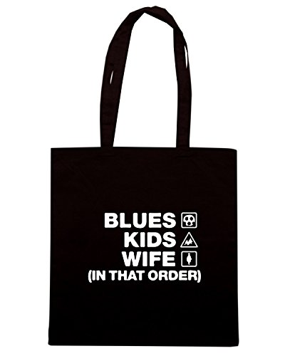 T-Shirtshock - Borsa Shopping WC1152 everton-blues-kids-wife-order-tshirt design Nero