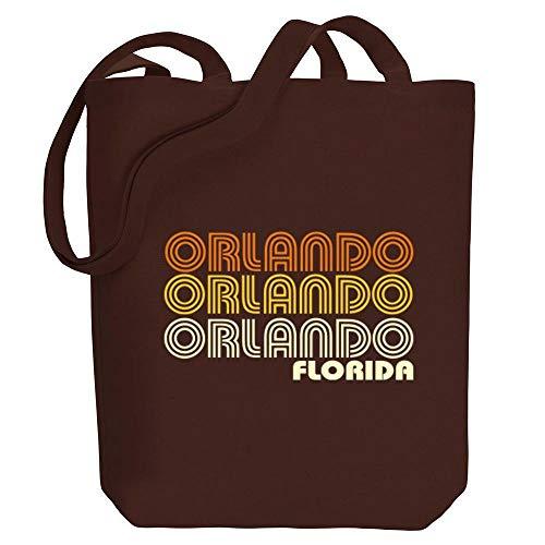 Idakoos Orlando Retro Color Einkaufstaschen 10.5