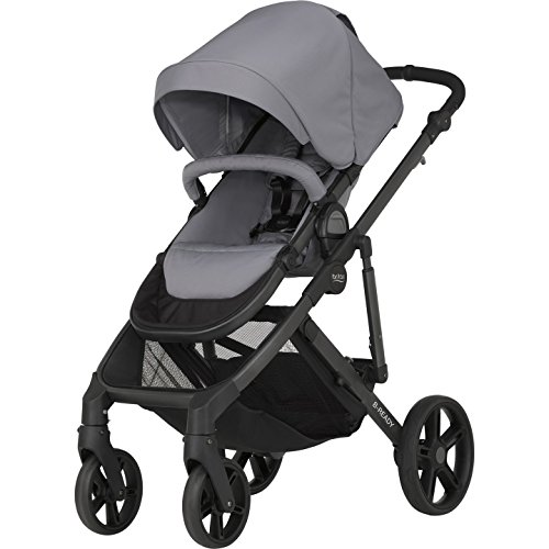 Britax 2000023584 B-Ready Kombi-Kinderwagen, Kollektion 2016, Steel grey